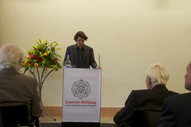 Dr. Michael Frauchiger, Opening of the Award Ceremony