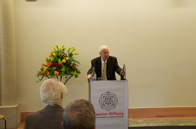 Prof. Sir Michael Dummett, Words of Thanks