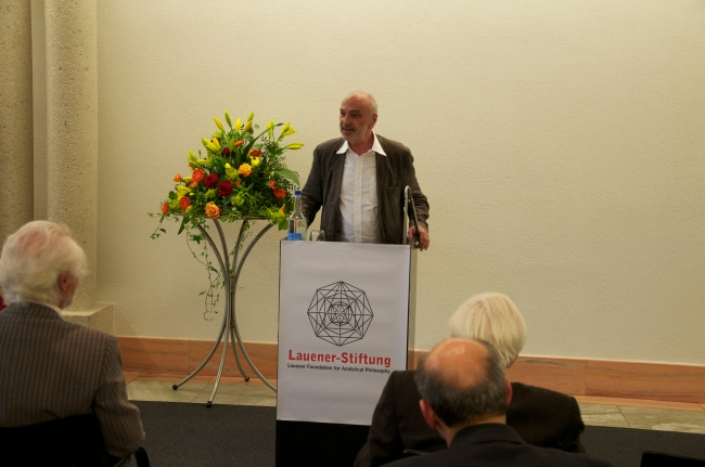 Dr. Stephan Hottinger, Conclusion of the Award Ceremony