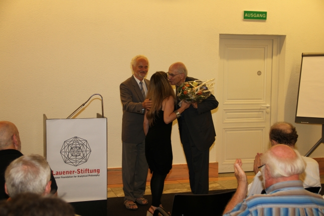 Presentation of the Lauener Prize for an Outstanding Oeuvre 2012