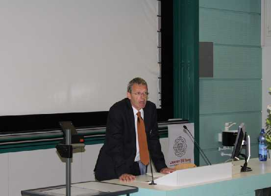 Prof. Dr. Daniel Schulthess (Member of the foundation council), Conclusion of the Award Ceremony