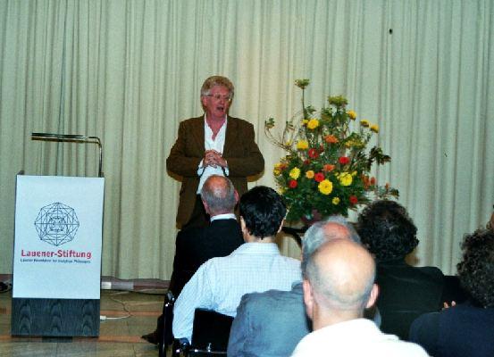 Laudatio: Prof. Dr. Kevin Mulligan (Univ. Genève)