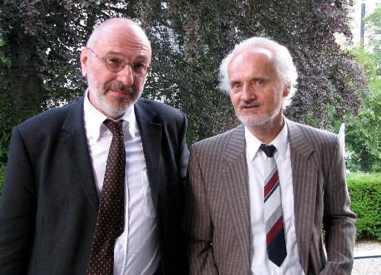 Dr. Stephan Hottinger and Prof. Dr. Wilhelm K. Essler