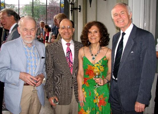 Prof. Dr. Charles Parsons, Prof. Dr. Michael Friedman, Prof. Dr. Graciela de Pierris, and Prof. Dr. Dagfinn Føllesdal