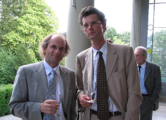 Prof. Dr. Olav Gjelsvik and Prof. Dr. Alex Burri