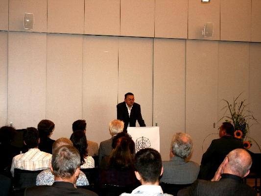 Prof. Dr. Ulrich Nortmann, Laudatio for Dr. Daniel Schoch