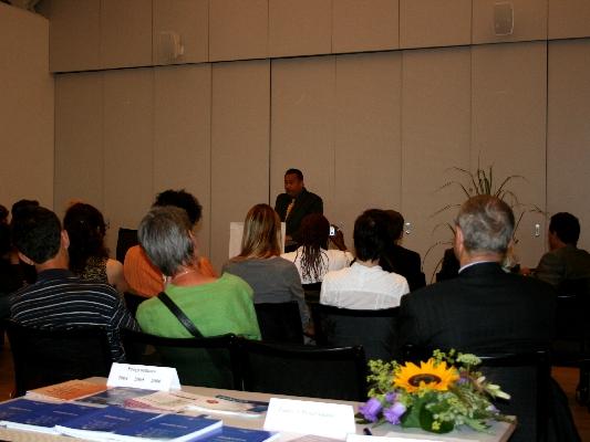 Dr. Daniel Schoch, Prizewinner's Speech