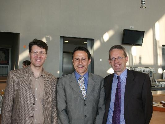 Dr. Michael Frauchiger, Dr. Markus Zürcher, and Prof. Dr. Daniel Schulthess
