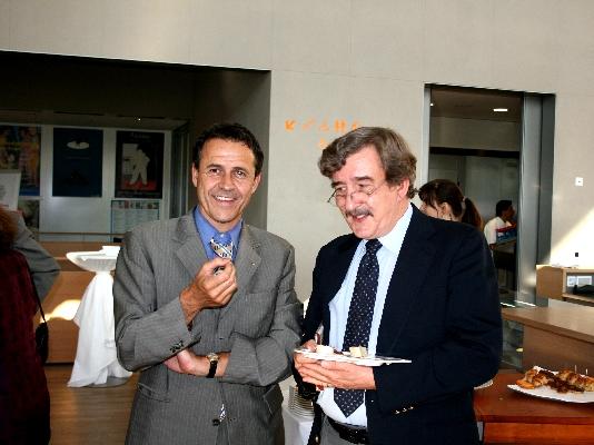 Dr. Markus Zürcher and Prof. Dr. H. G. Callaway