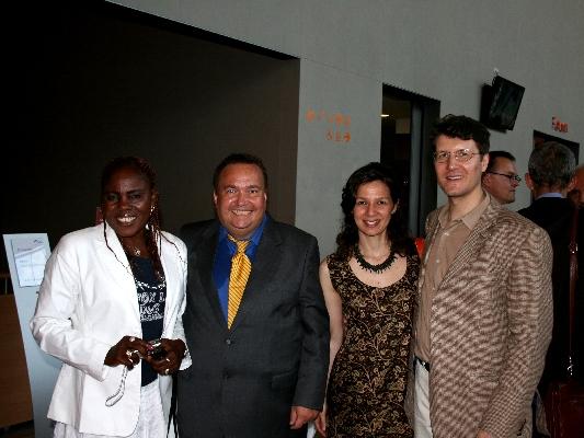 Mary Schoch, Dr. Daniel Schoch, Fabiana Macchi, and Dr. Michael Frauchiger