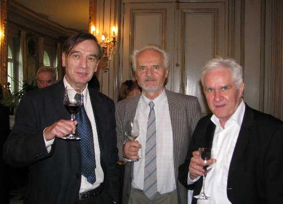 Prof. Dr. Gerhard Seel, Prof. Dr. Wilhelm K. Essler, and Prof. Dr. Edgar Morscher