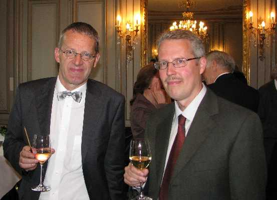 Prof. Dr. Daniel Schulthess and Prof. Dr. Erik J. Olsson