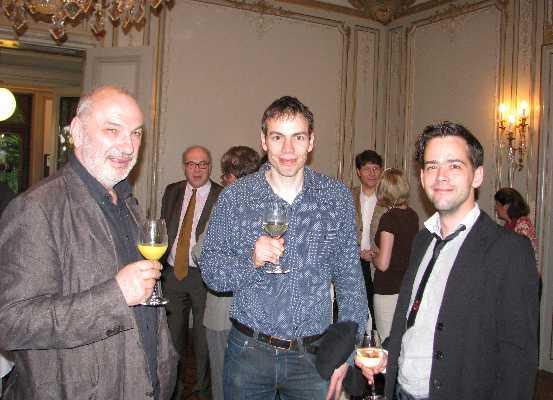 Dr. Stephan Hottinger, Dr. Stephan Leuenberger, and Dr. Philipp Keller