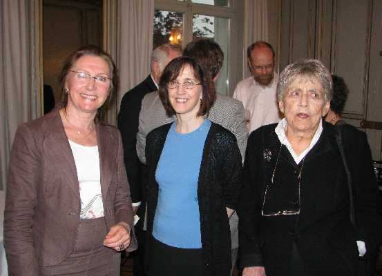 Prof. Dr. Joëlle Proust, Prof. Dr. Diana Raffman, and Prof. Dr. Ruth Barcan Marcus