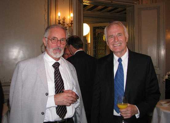 Prof. Dr. Beat Sitter and Prof. Dr. Dagfinn Føllesdal