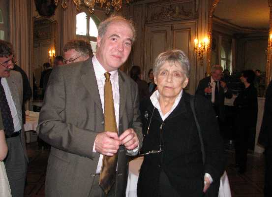 Prof. Dr. Pascal Engel and Prof. Dr. Ruth Barcan Marcus