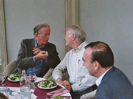 Prof. Dr. Patrick Suppes, Prof. Dr. Dagfinn F�llesdal and Prof. Dr. G. Seel