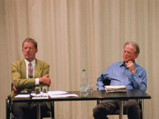 Prof. Dr. Daniel Schulthess and Prof. Dr. Patrick Suppes